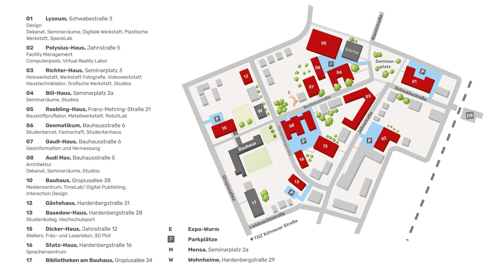 Campus Standort Dessau Hochschule Anhalt
