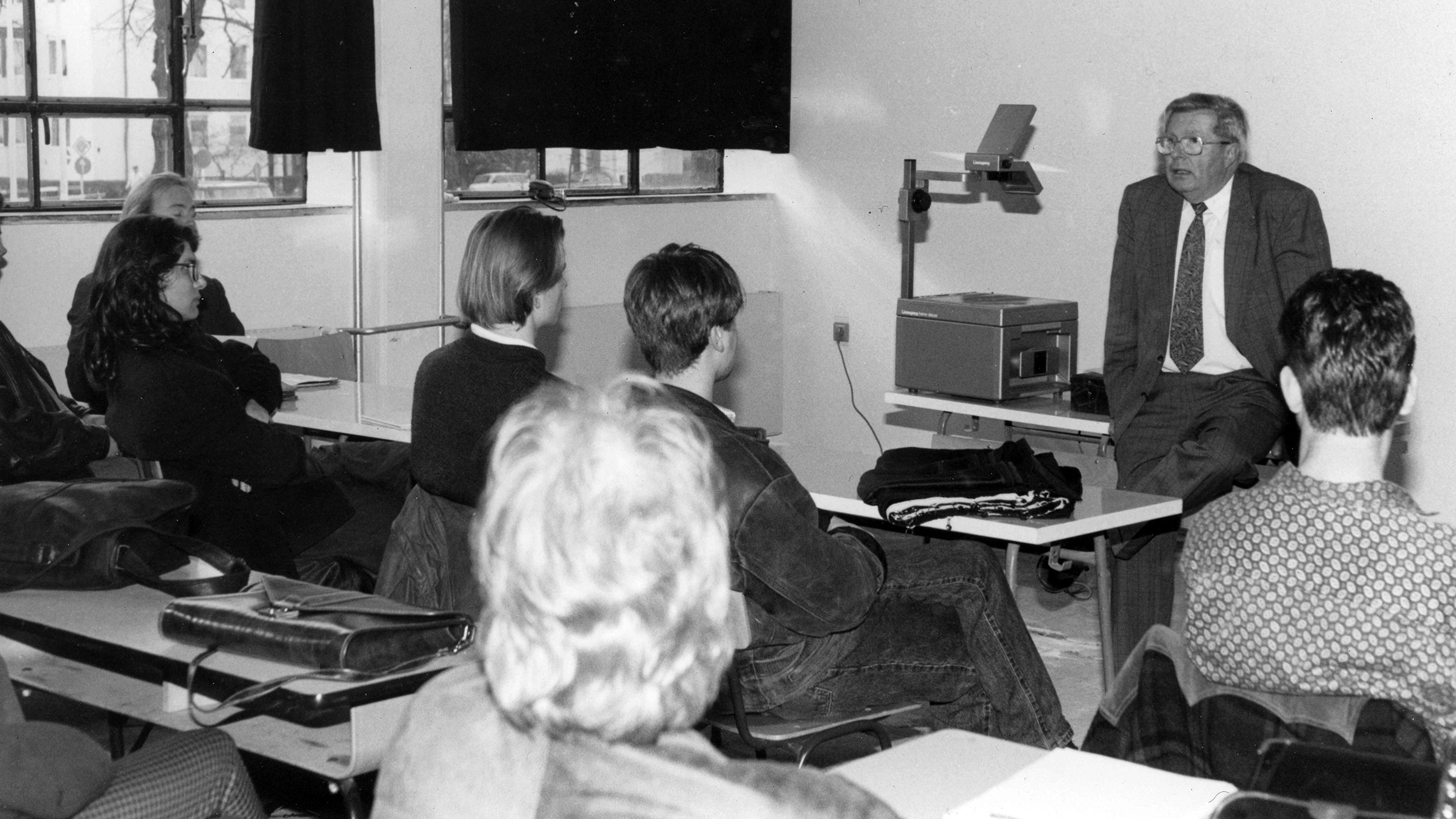1992 Unterricht am Bauhaus