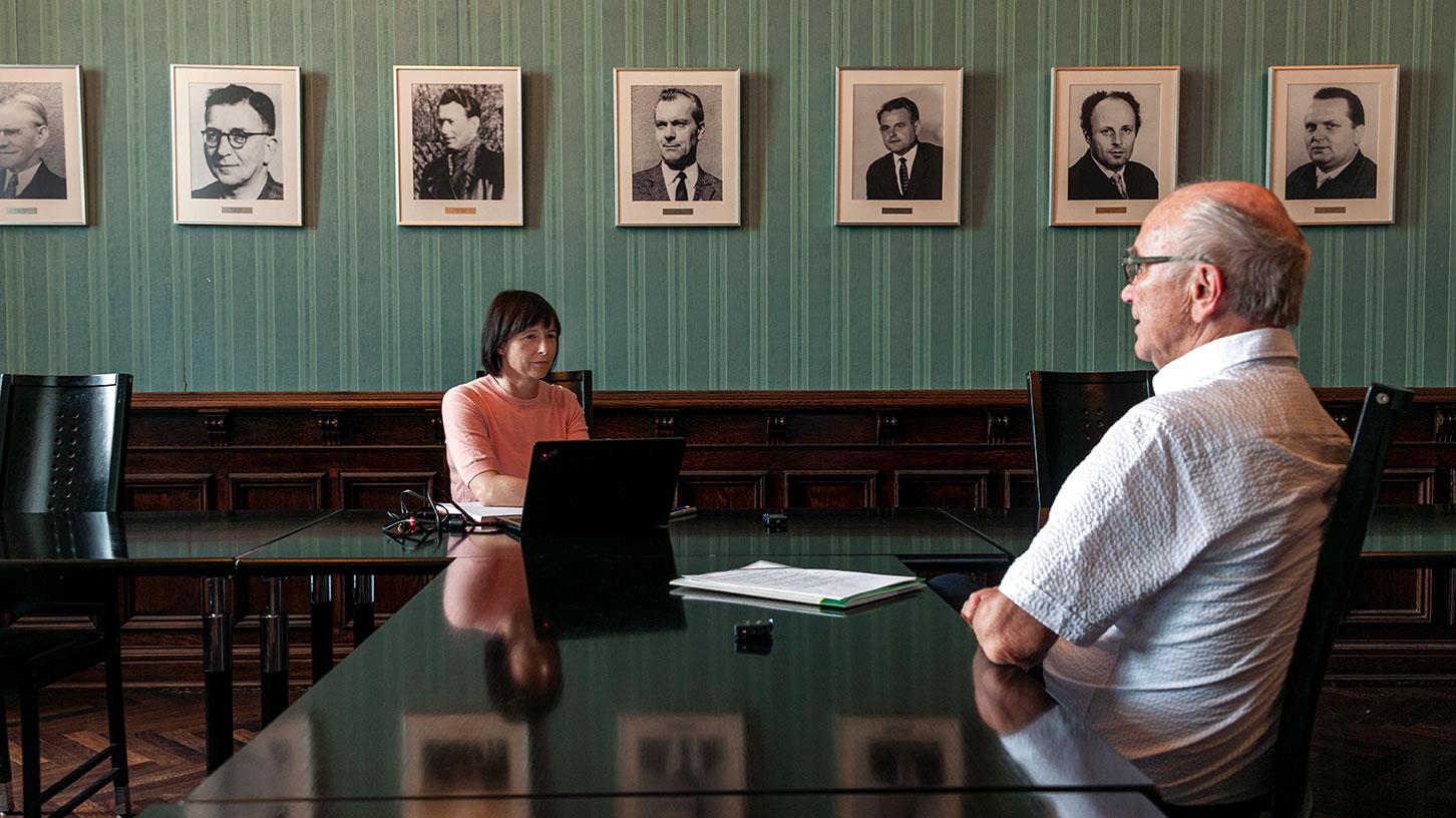 Prof. Klaus Hertwig im Interview