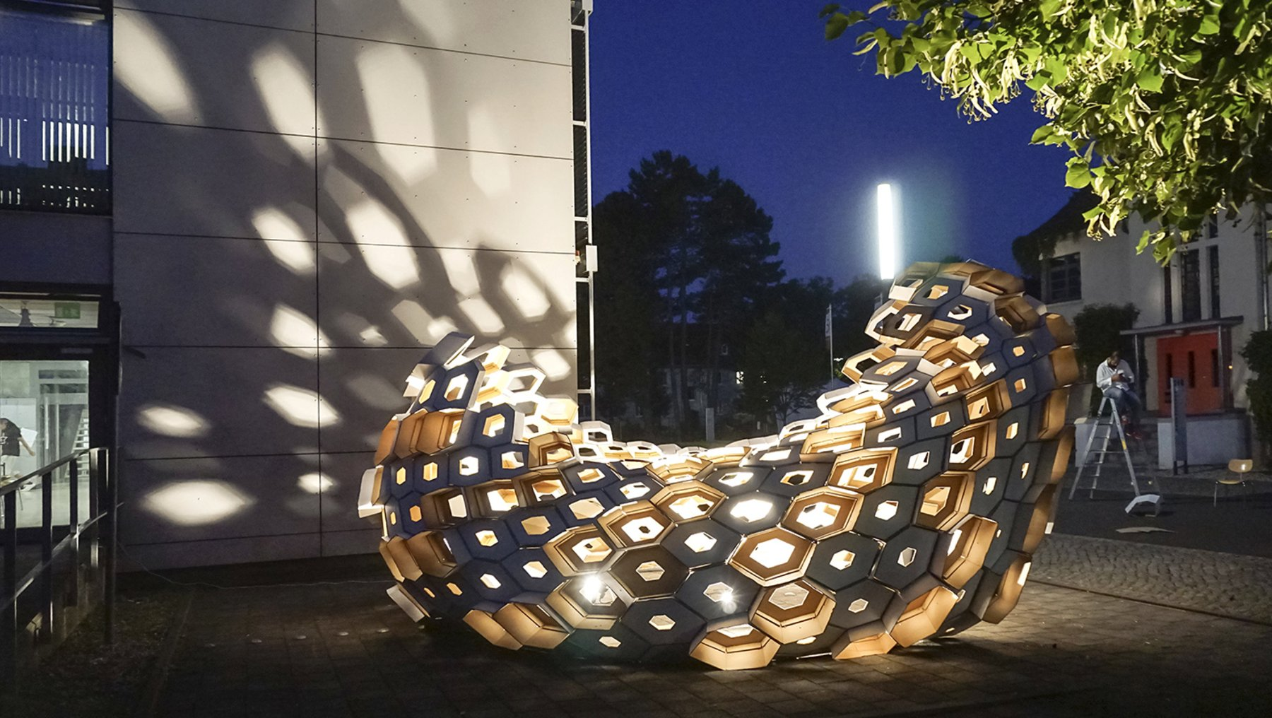 Pavilion HEX-316 - Cadlogic Digital Fabrication