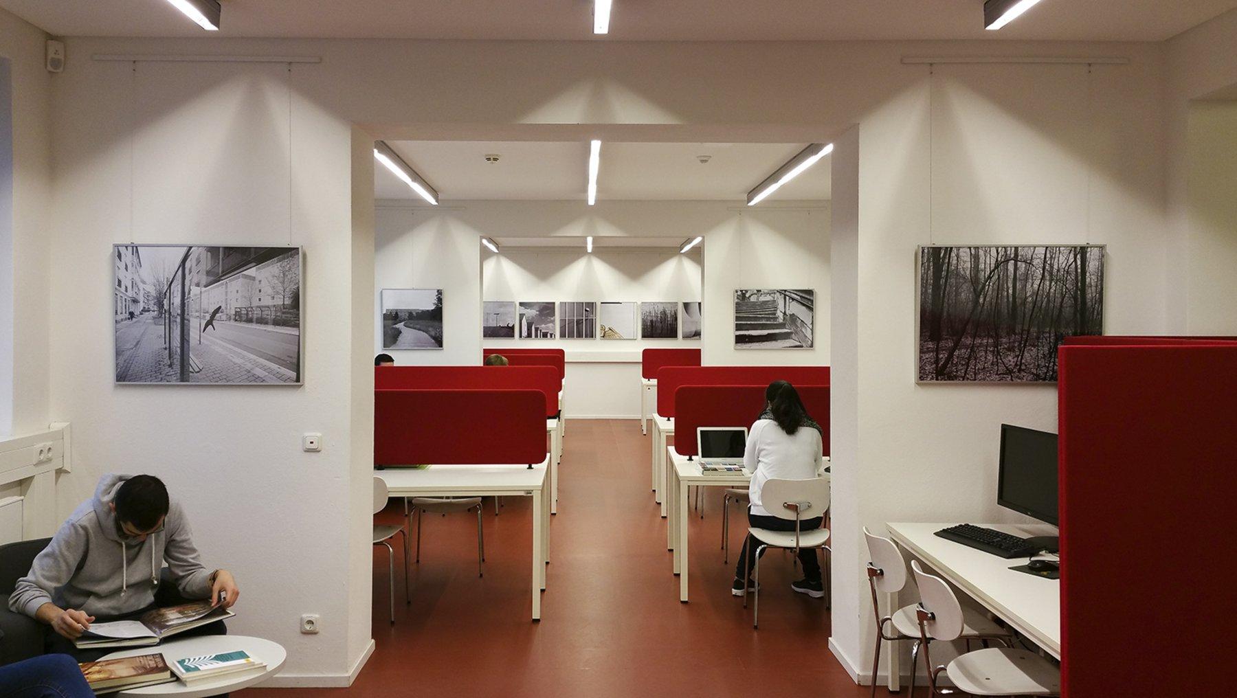 Fotoausstellung Hochschulbibliothek Dessau