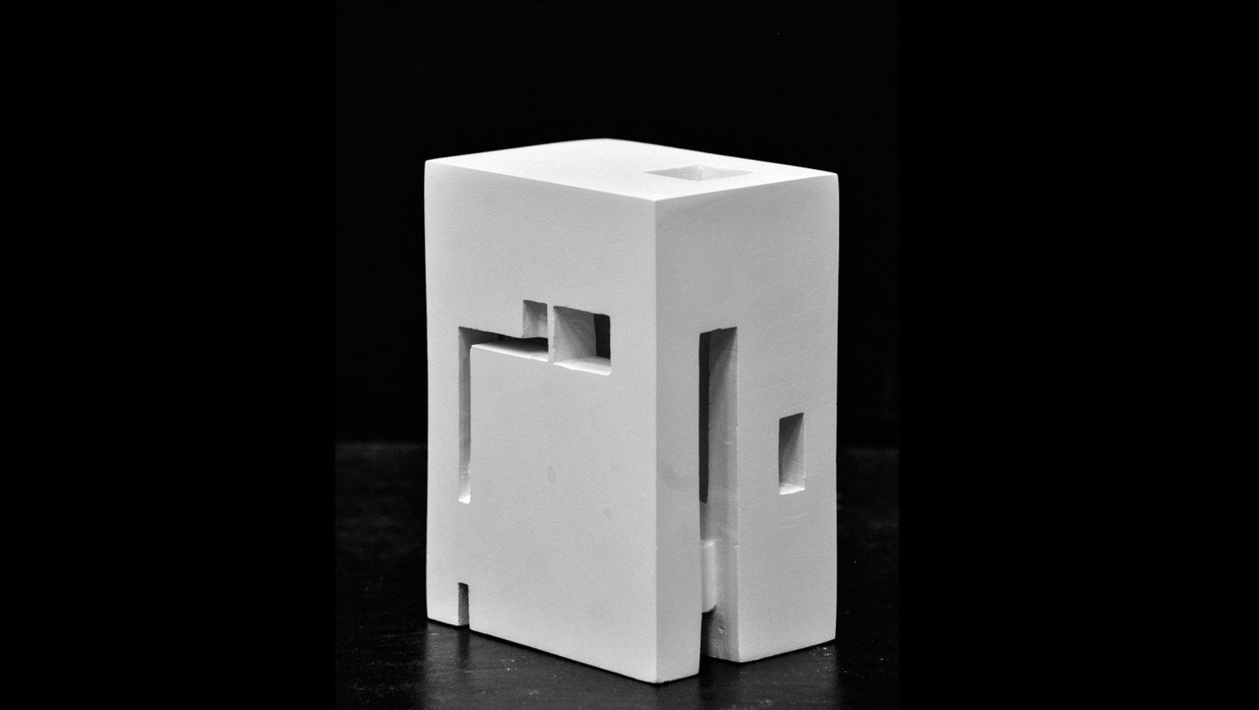 Kubenkomposition - Raum im Körper