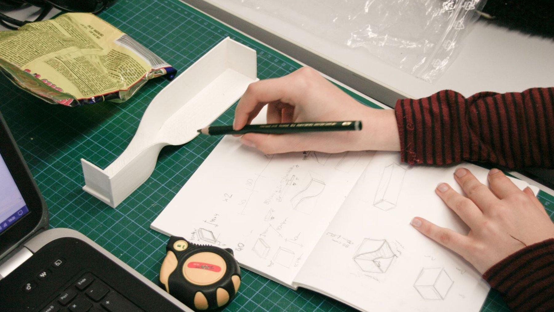 Arbeit am Entwurf