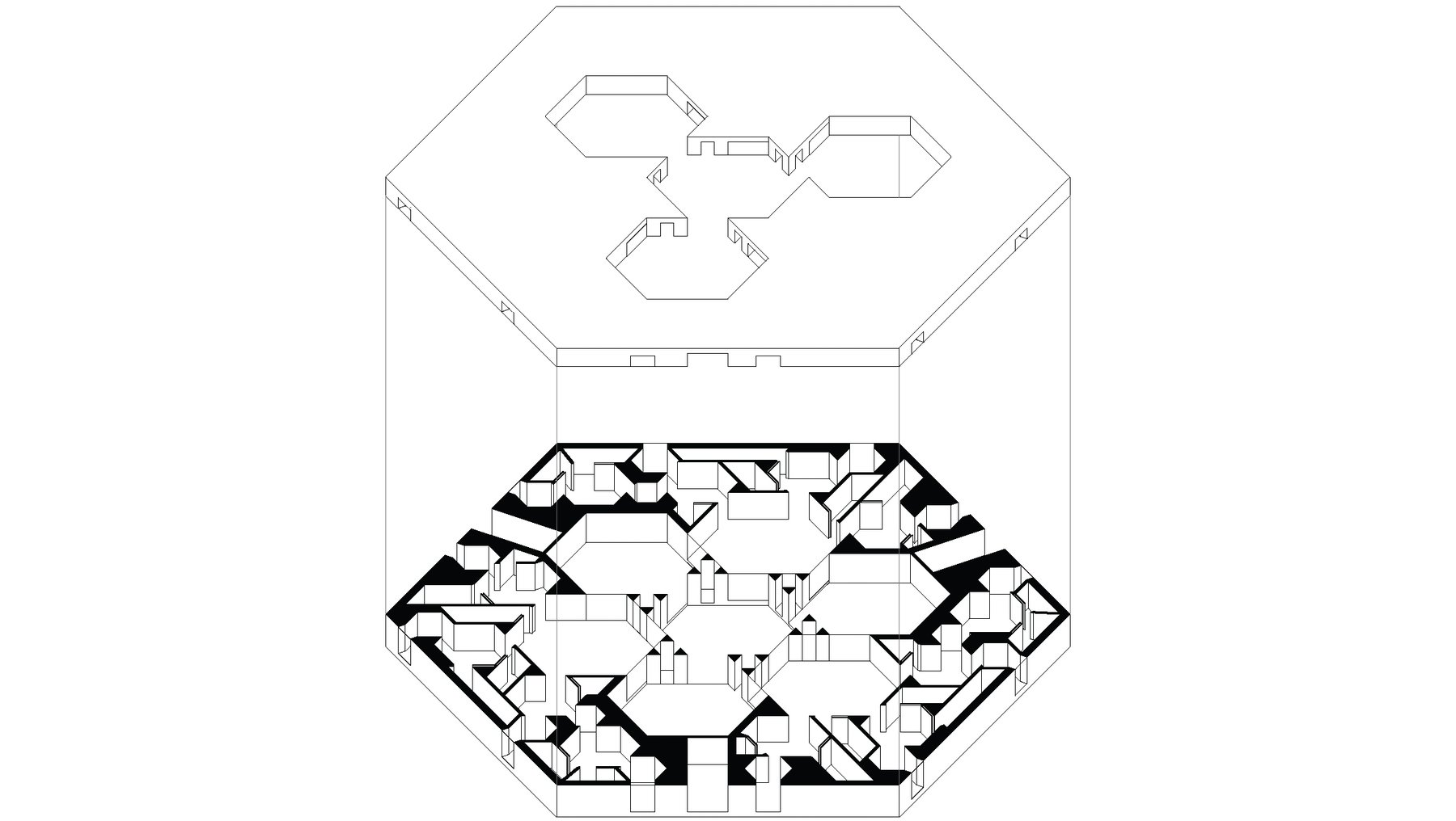 Isometrie Sechseck