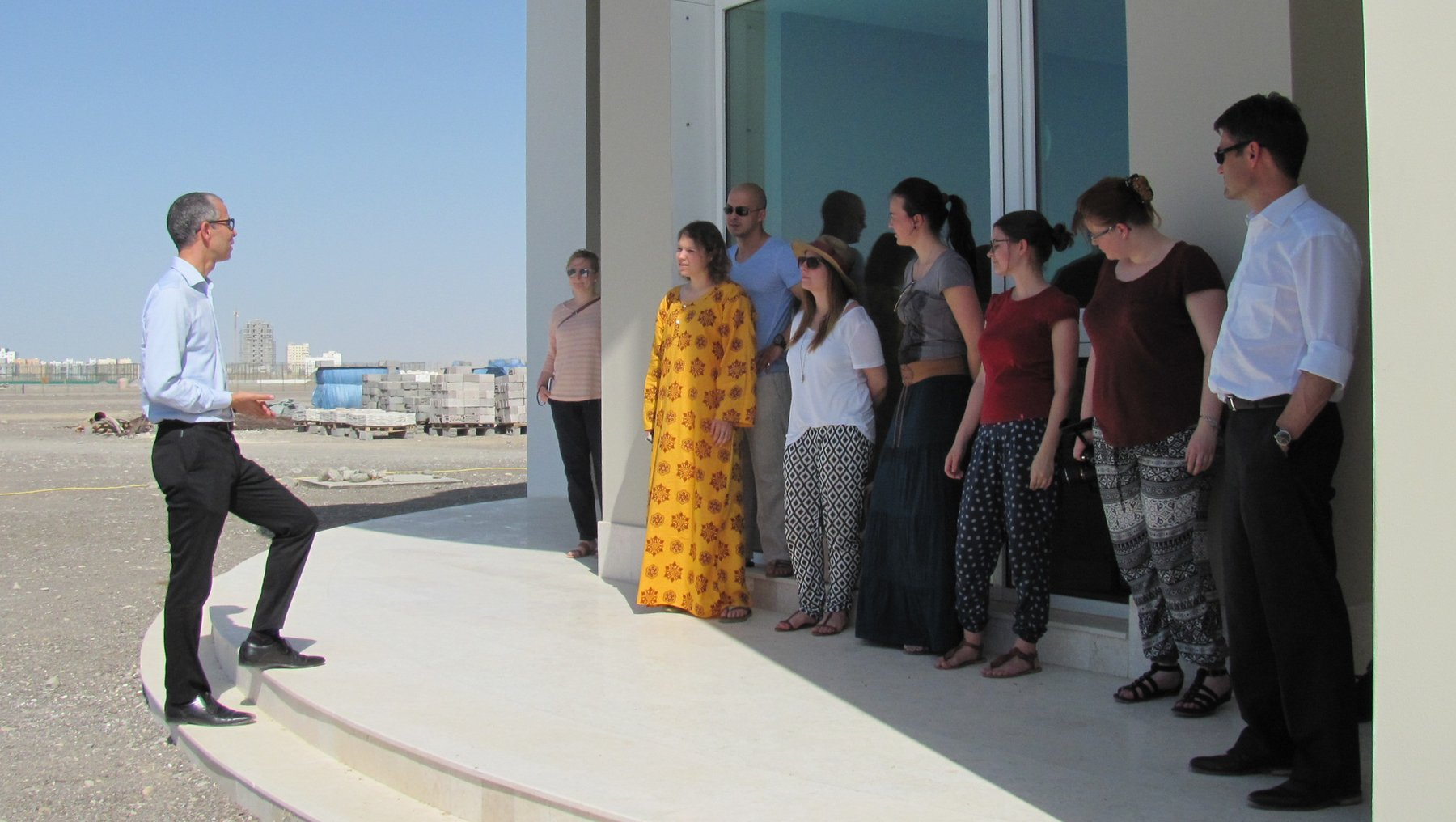 Dubai Gruppenbild