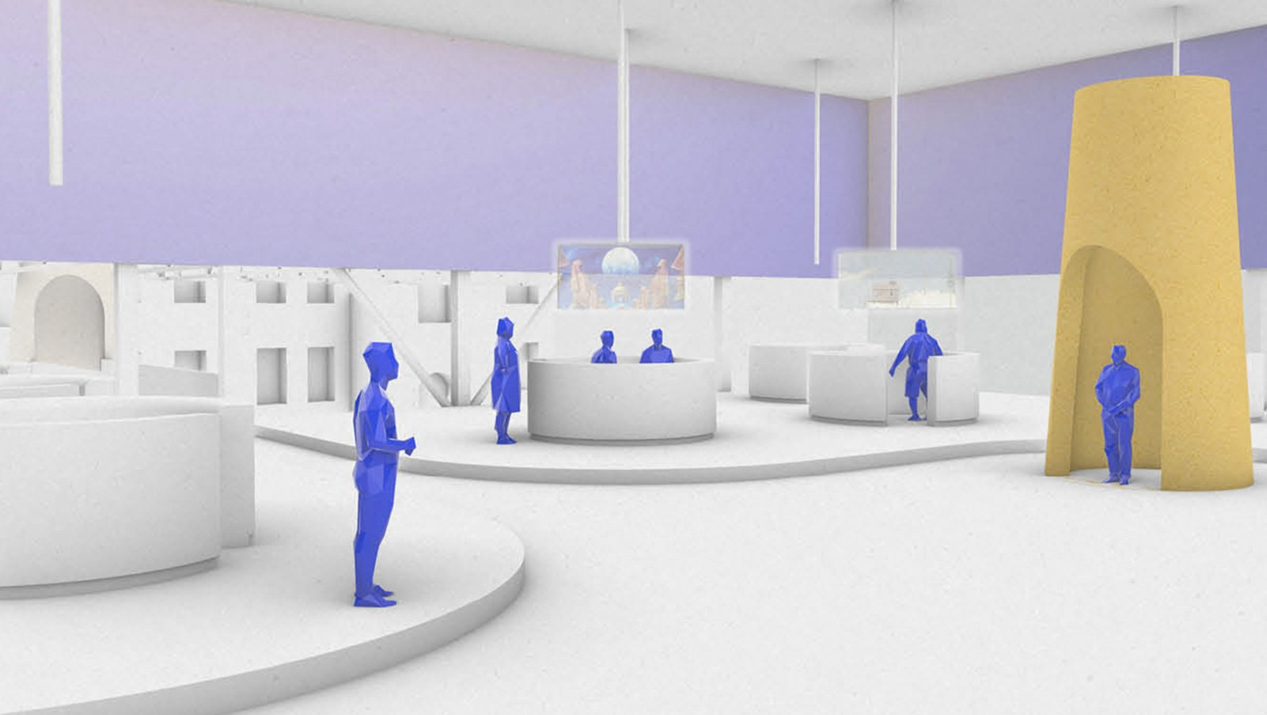 Volksgarten V.2 - a merged reality playgrund for post-human future