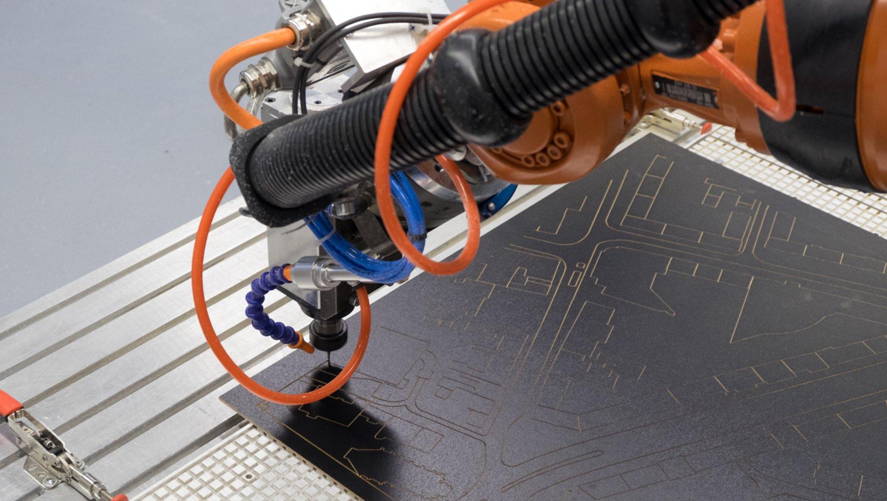 Materialspulen des 3D-Druckers