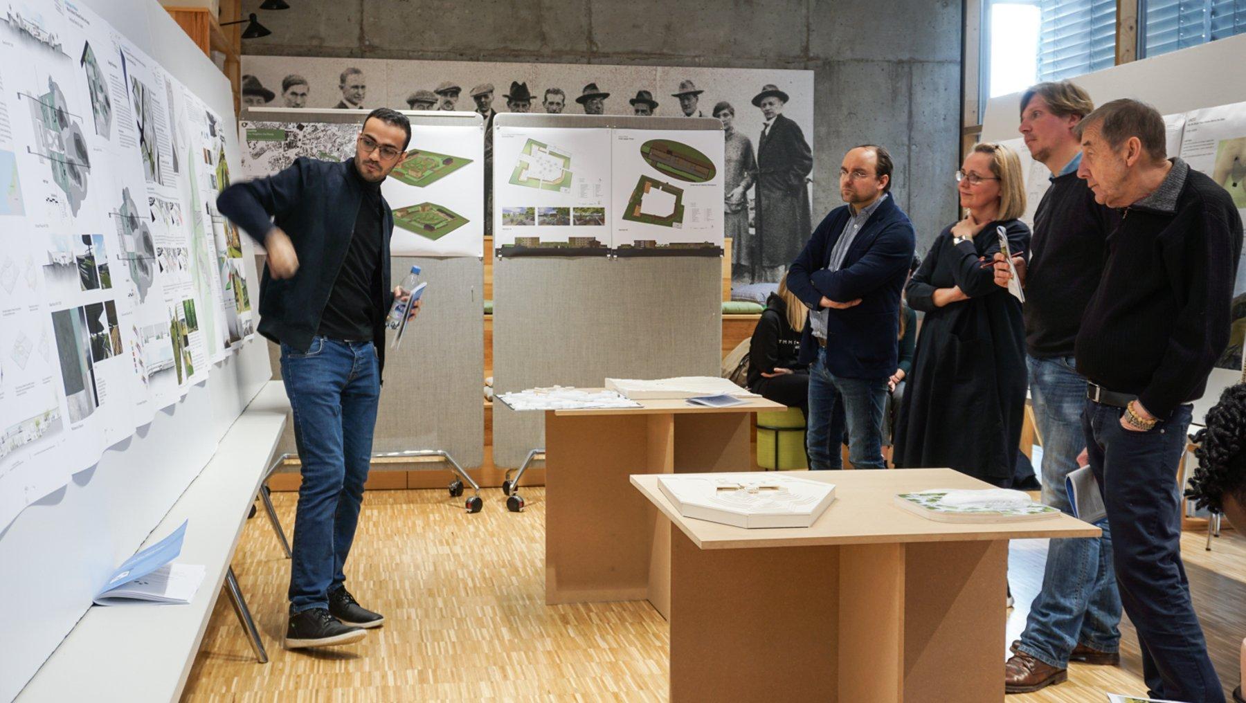 Pandahaus - Entwurfspräsentation