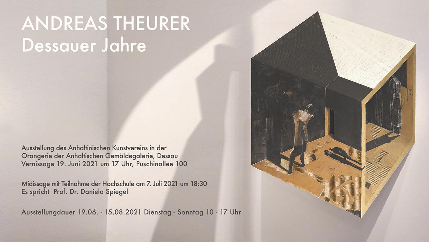 Prof. Andreas Theurer - Ausstellung Orangerie des Schlosses Georgium Dessau