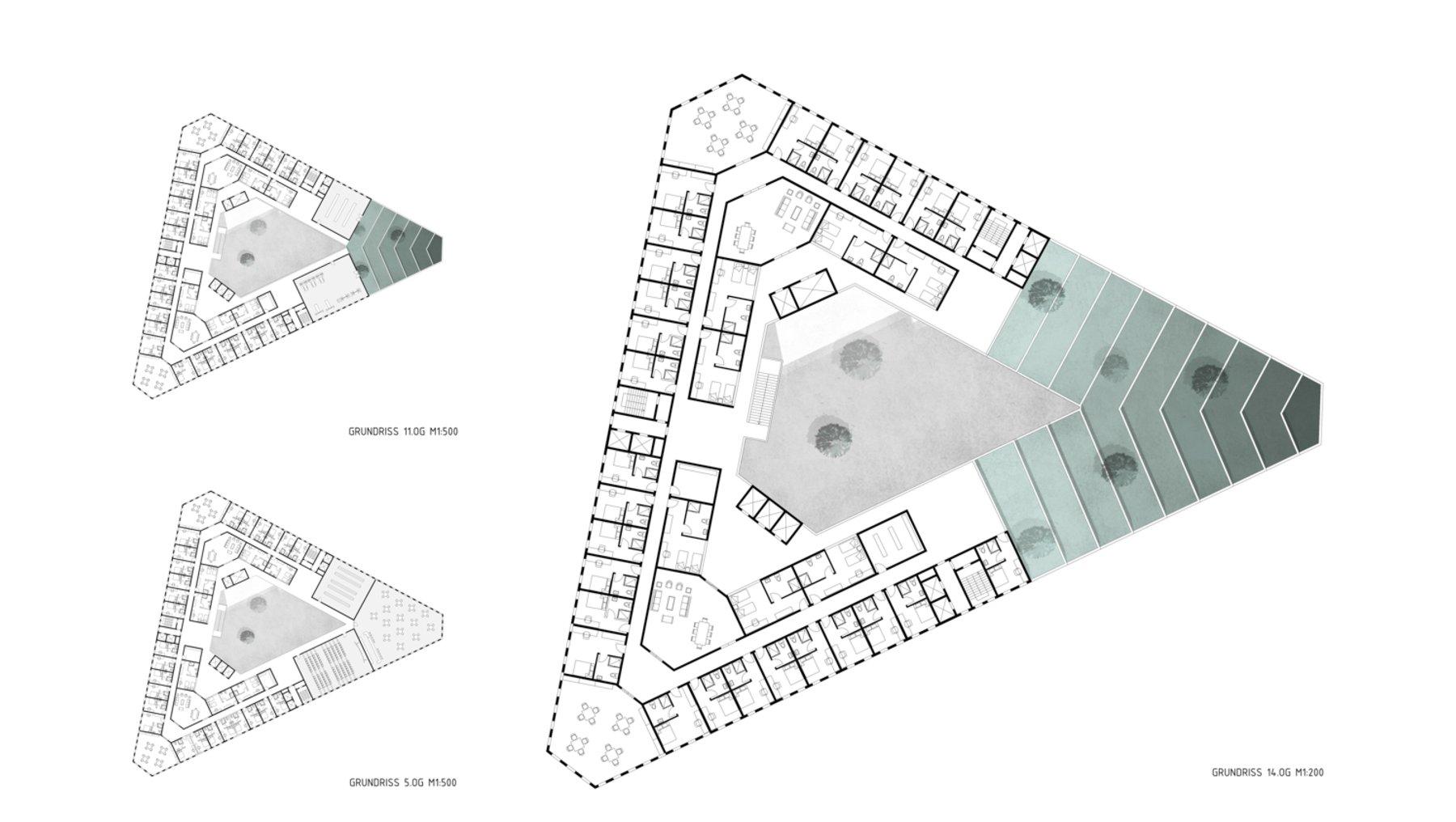 eVolo Skyscraper Competition Frankfurt/M. - Semesterarbeit von Zhao Huang