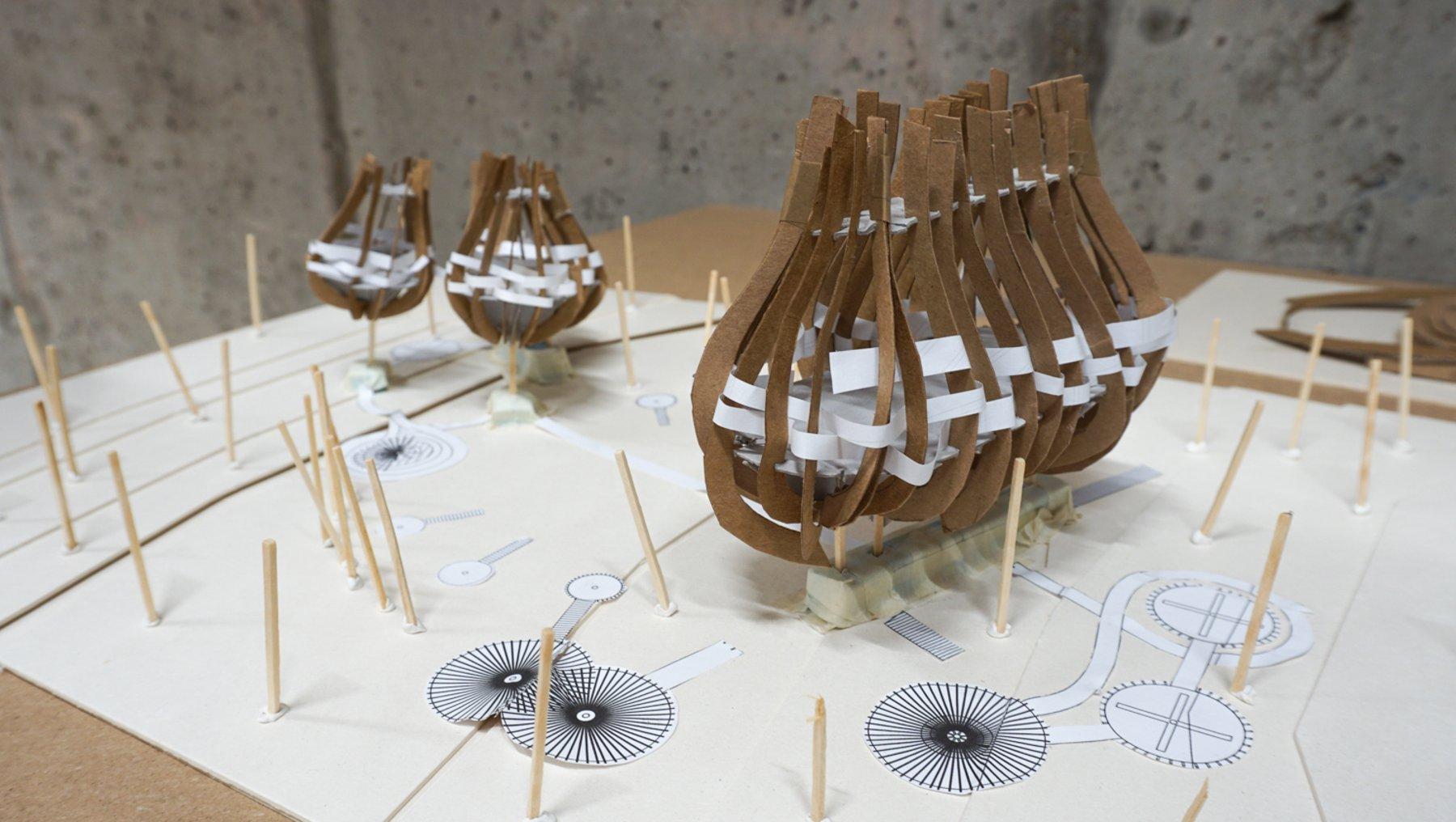 Pandhaus - Entwurfsmodell