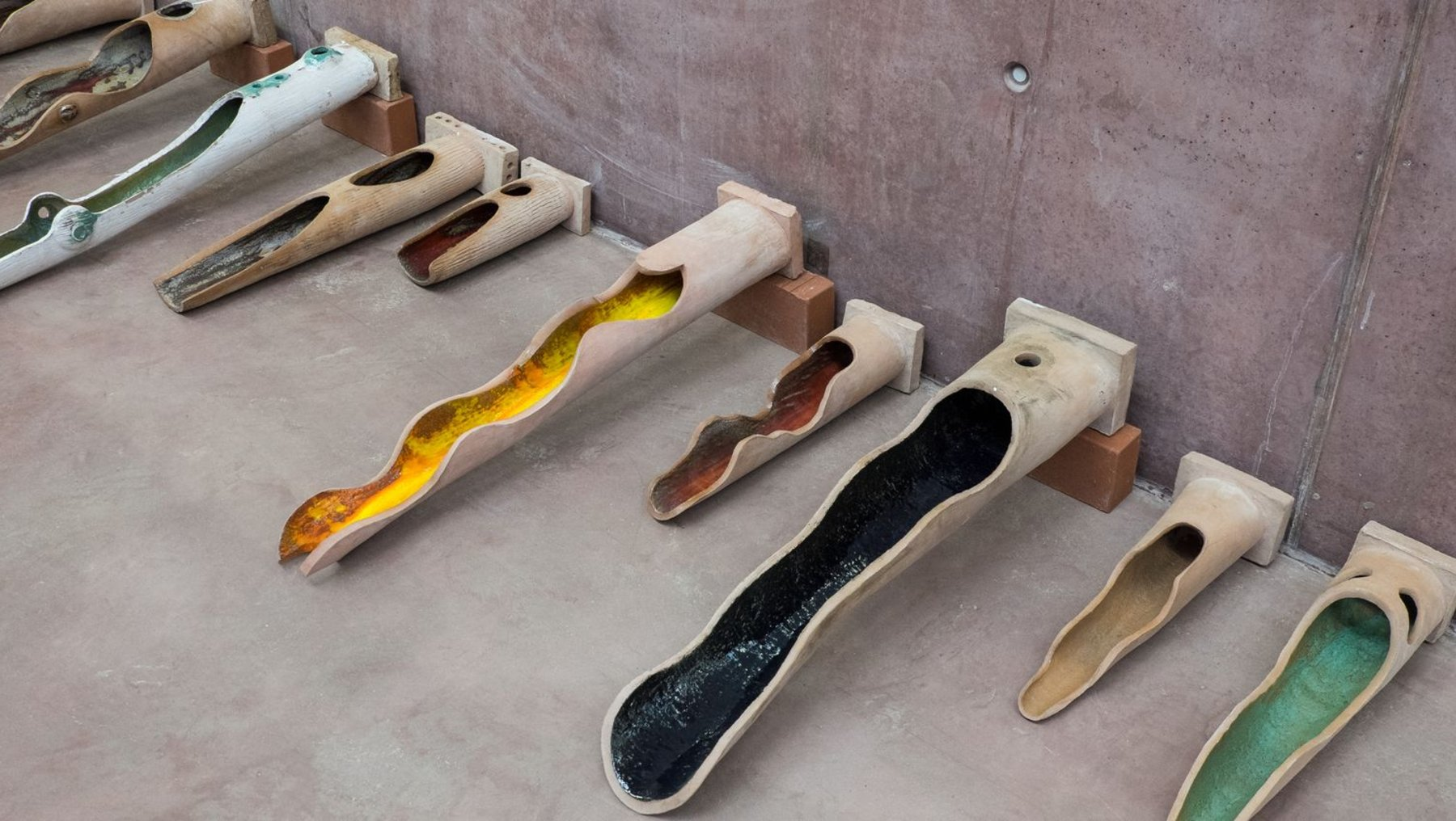 Plastisches Gestalten - Wasserspeier aus Keramik