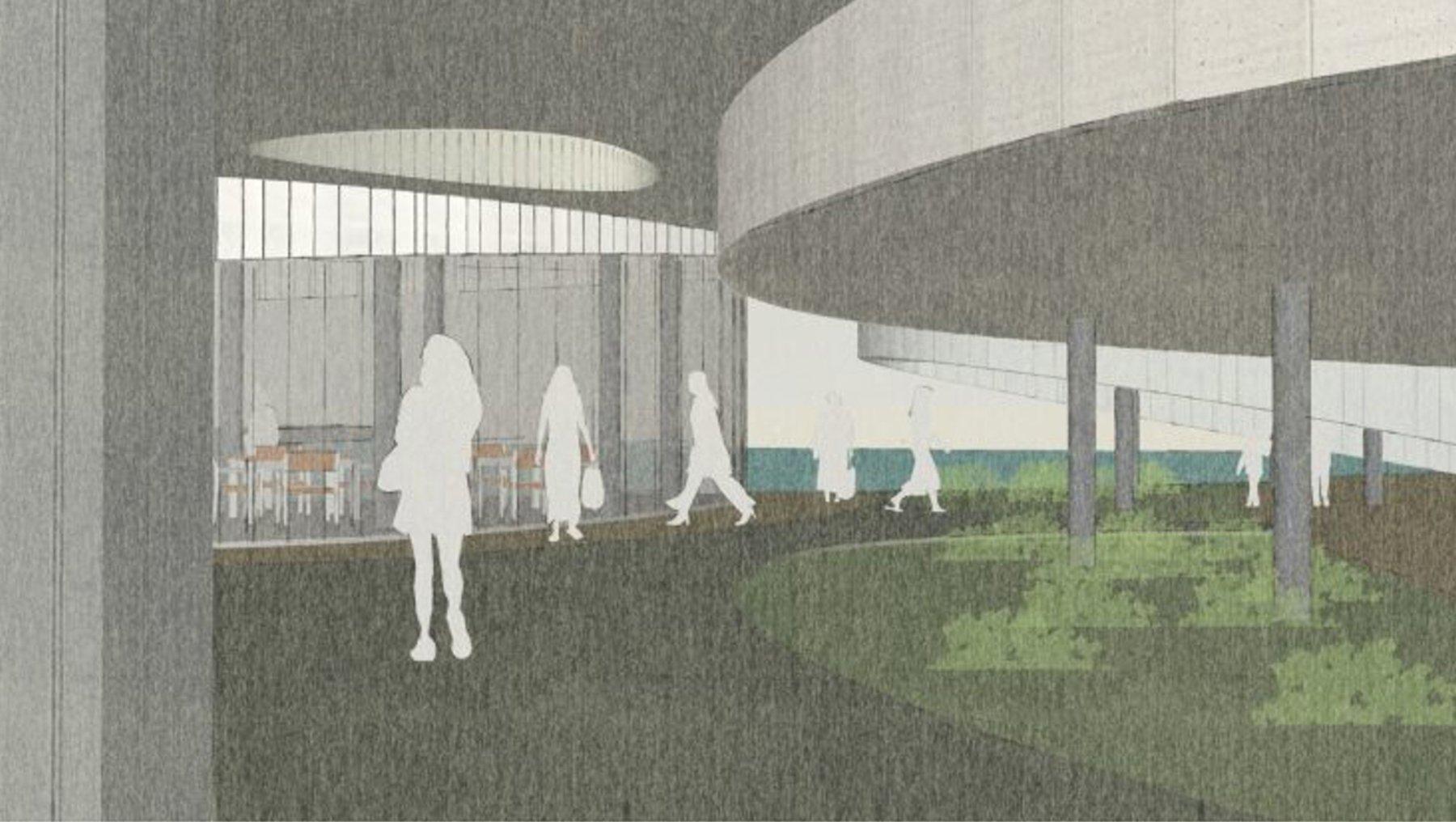 Architekturentwurf Ozeaneum von Ana Paola Alvarado