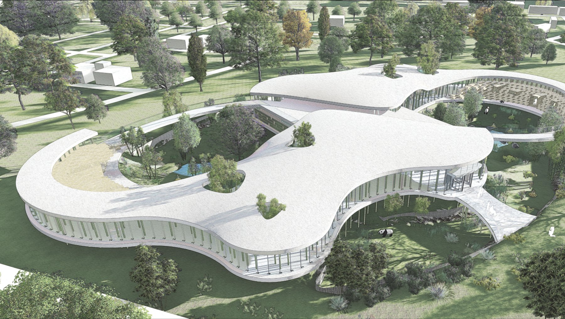 Pandahaus - Entwurf Mehmet Caferoglu