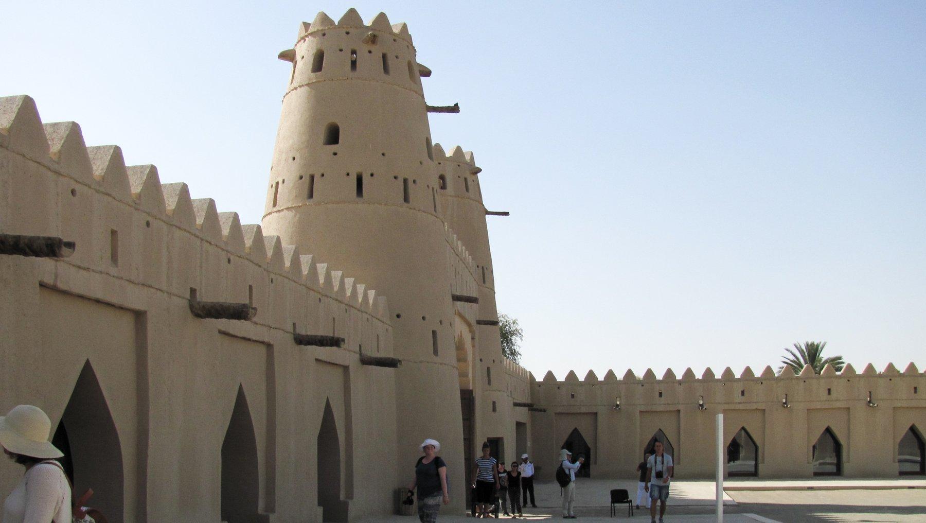 Dubai Lehmarchitektur