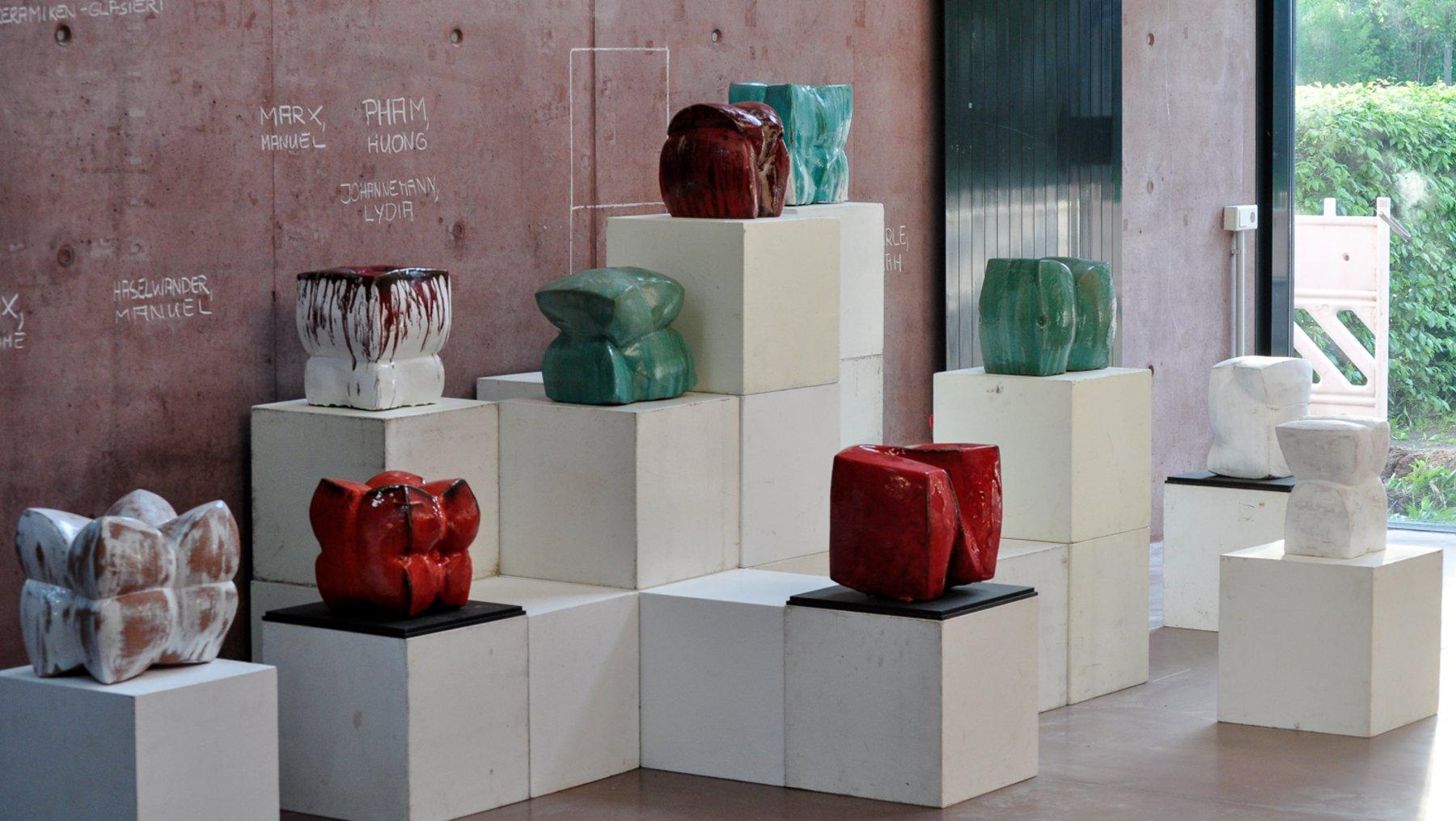 Plastische Verformung - Ausstellung