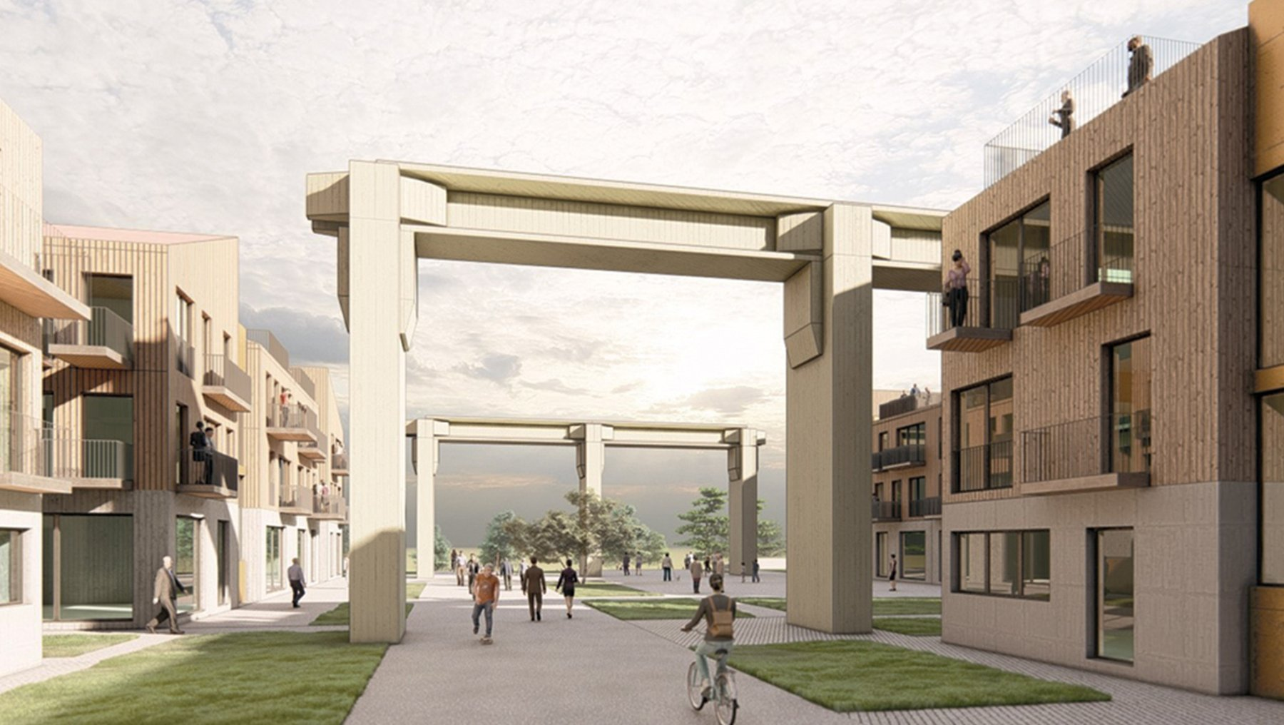 Neighbourhood Design and Housing - Magdeburg Buckau