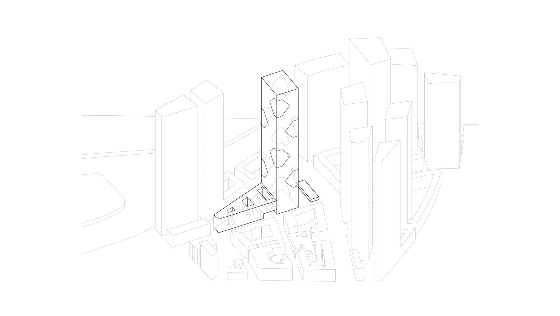 eVolo Skyscraper Frankfurt - Entwurf von Maria Luisa Günther und Christopher Jakobasch