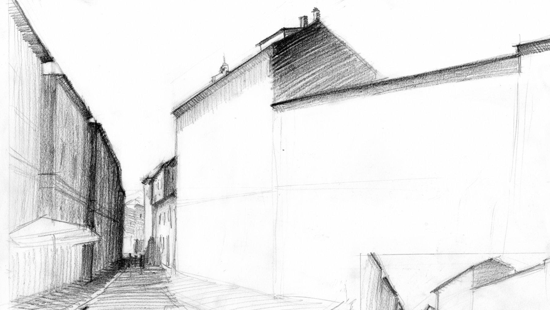 Zeichenexkursion nach Bologna Mai 2019